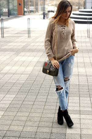 Stradivarius jeans - sweater