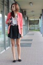 jacket - shirt - bag - skirt
