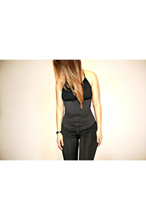 black waist trainer Vedette intimate
