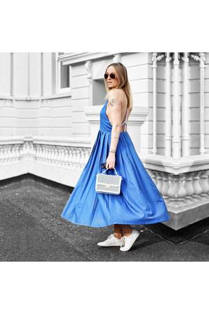 Sheinside dress - Primark bag - Zara sneakers