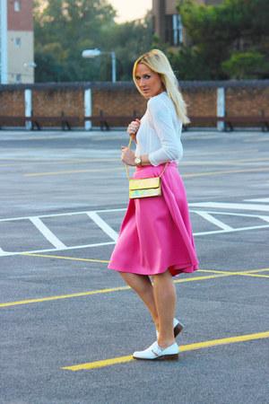 Primark skirt - Zara flats - Zara top