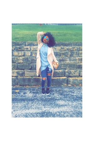 jeans - Forever 21 jacket - top