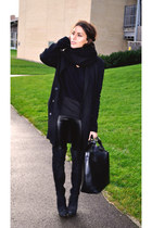 Topshop boots - Zara bag