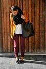 Zara-blazer-topshop-scarf-zara-bag-zara-jumper-topshop-pants