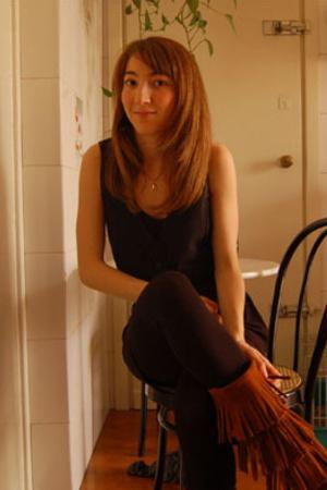 Minnetonka shoes - H&M shirt - Zara skirt - vest