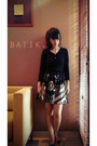 Damn-i-love-indonesia-skirt-zara-cardigan-charles-keith-flats