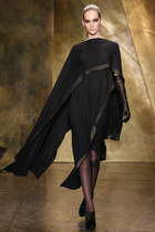 black donna karan dress