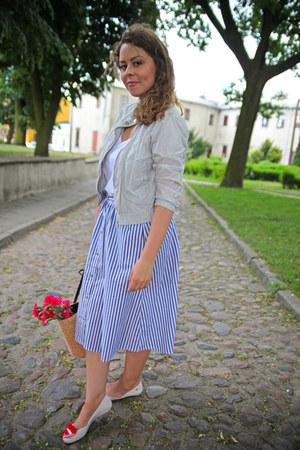 Stradivarius jacket - Stradivarius skirt