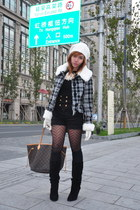 What A Girl Wants hat - from Shanghai coat - simone shorts - simone top - depart