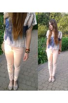 light pink H&M blouse