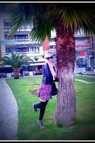 pink TALLY WEIJLY skirt - black BSB jacket - black Kem bag