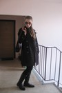 Black-rieker-boots-black-h-m-dress-black-h-m-leggings-tawny-vintage-scarf