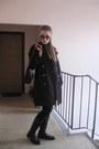 Black-rieker-boots-black-h-m-dress-black-h-m-leggings-tawny-vintage-scarf