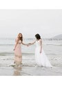 Light-pink-dress-white-dress