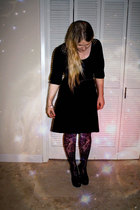 dress - Target tights - thrifted shoes