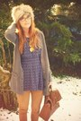 Light-brown-primark-cardigan-navy-topshop-top-bronze-m-s-leggings