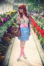 Bubble-gum-asos-socks-sky-blue-limited-edition-skirt-bubble-gum-asos-belt