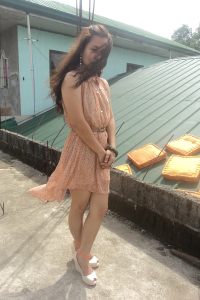 dress - wedges