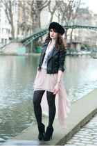 light pink new look skirt