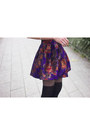 Deep-purple-derhy-skirt