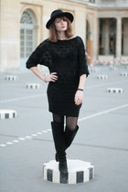 black vani dress dress