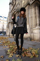 charcoal gray AMERICAN VINTAGE sweater