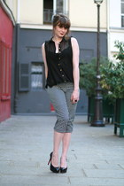black Newlook shirt - dark gray Rene Derhy pants