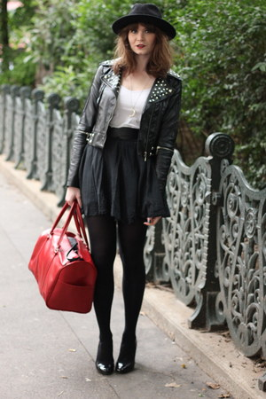 ruby red Pierre Cardin bag