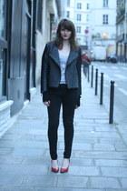 charcoal gray Brighton jacket