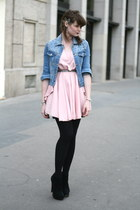 light pink romwe dress