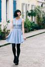 Light-blue-derhy-dress