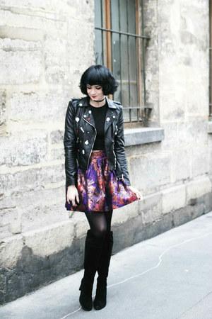 black Exclusif boots - black StyleWe jacket - black sammydress top