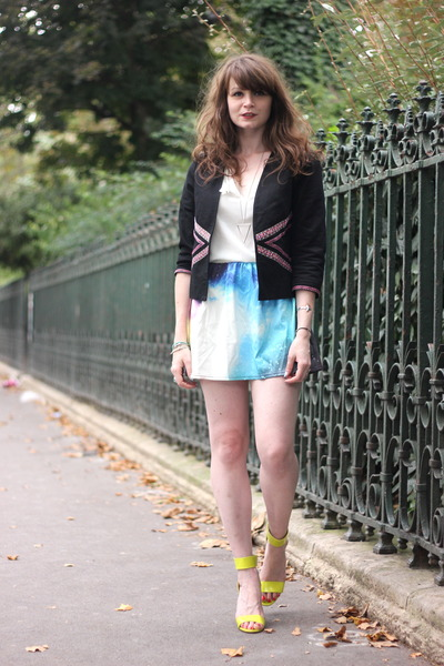 violet OASAP skirt