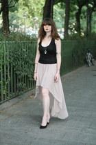nude Newlook skirt