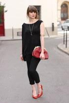ruby red Noe heels
