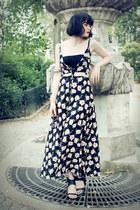 black GAMISS dress
