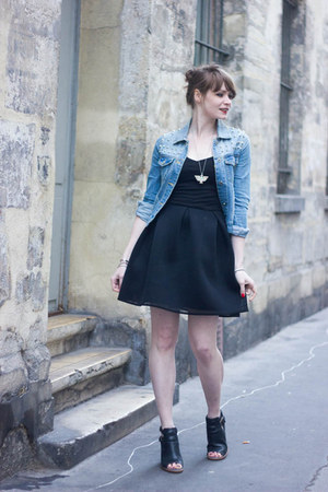 black sixth june dress