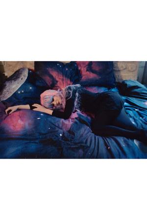 blue dresslily home decor - light blue dresslily hair accessory