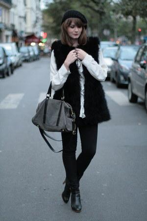 black Rene Derhy vest