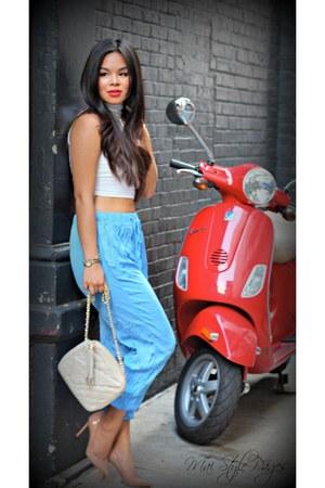 American Apparel shirt - Zara pants