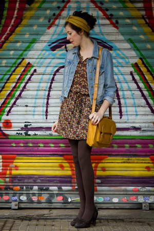 Urban Outfitters bag - unisa shoes - Topshop jacket - new look scarf