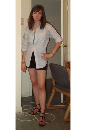 handmade shirt - JCrew top - Old Navy shorts - Classified shoes
