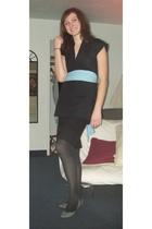 American Apparel dress - forever 21 skirt - American Apparel scarf - Betsey John