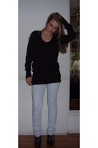 banana republic sweater - Lucky Brand jeans