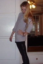 sweater - leggings