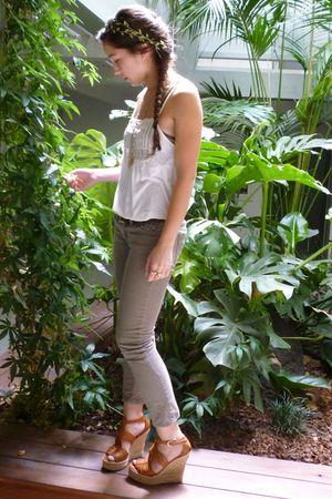 Urban Outfitters shirt - Gap pants - Ralph Lauren shoes