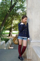 Forever 21 socks - Old Navy coat - DKNY accessories