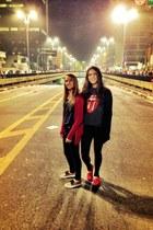 gray autentic rolling stones world tour 9495 t-shirt - red TOMS shoes