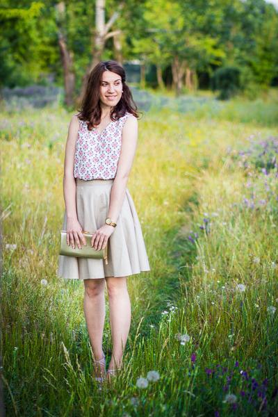 Koton shirt - Accesorize bag - Depot 96 skirt - Mango sandals
