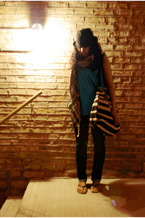 Express pants -  purse - Metropark hat - f21 top